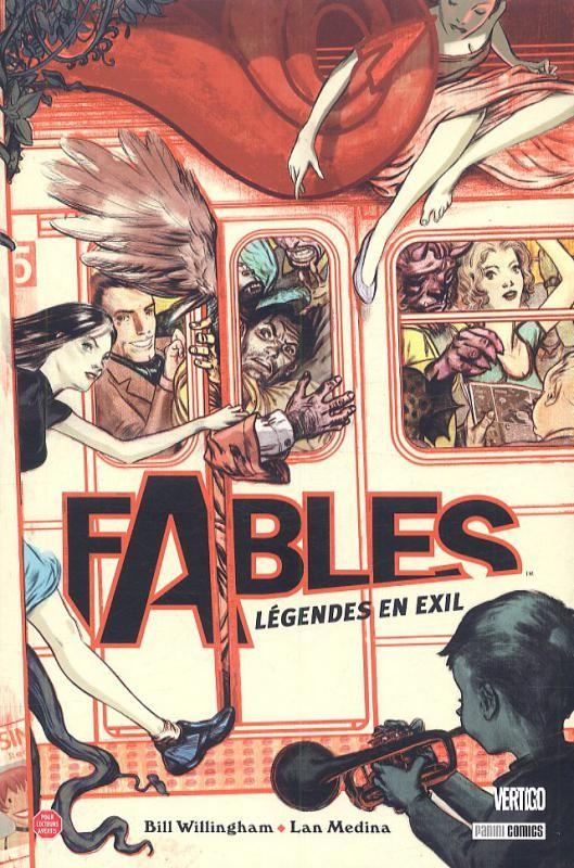 fables #1 légendes en exil