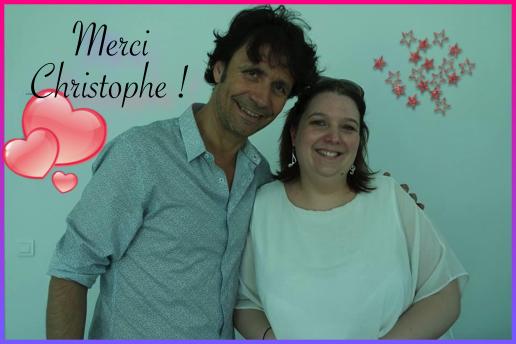 Christophe C and me