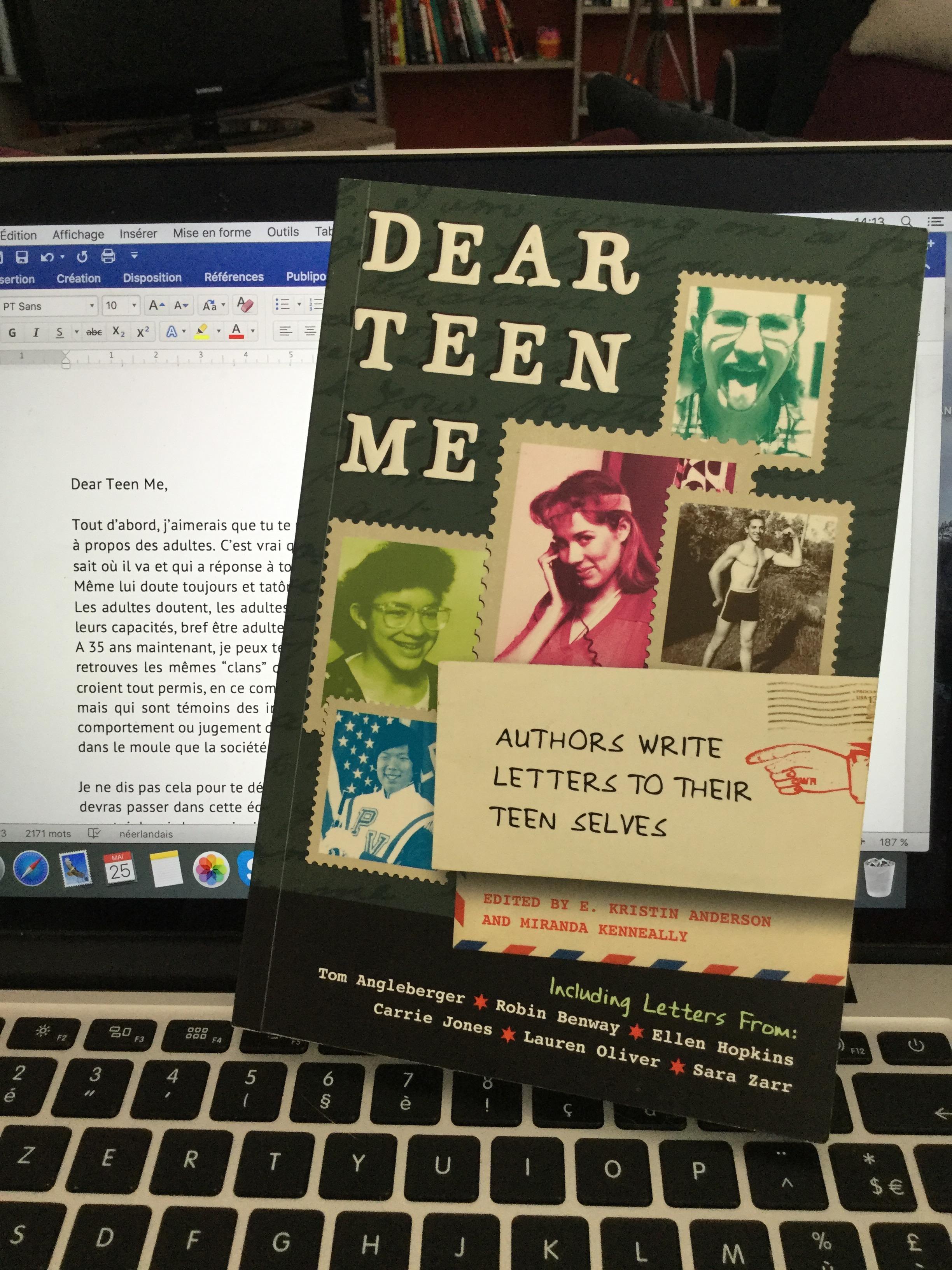 Dear Teen Me…